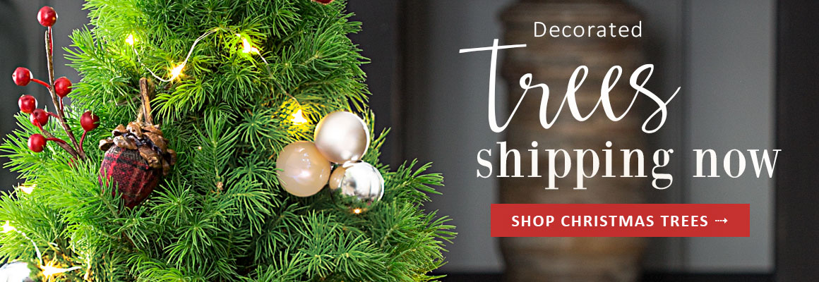 DECORATED TREES SHIPPING NOW - SHOP NOW