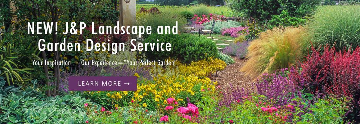 NEW! J&P Landscape and Garden Design Service