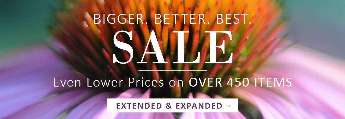 Bigger. Better. Best. SALE EXTENDED | Even Lower Prices on OVER 450 ITEMS - SHOP THE SALE