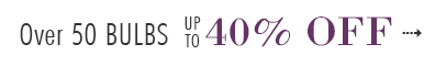 146th Birthday Celebration - Over 50 BULBS up to 40% OFF - SAVE NOW