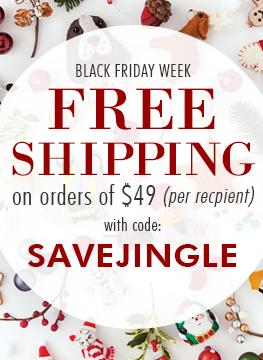 FREE SHIPPING on orders of $49 or more with code: SAVEJINGLE