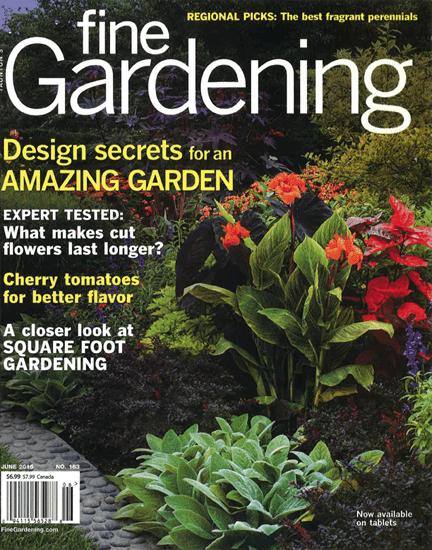 Fine Gardening June 2015