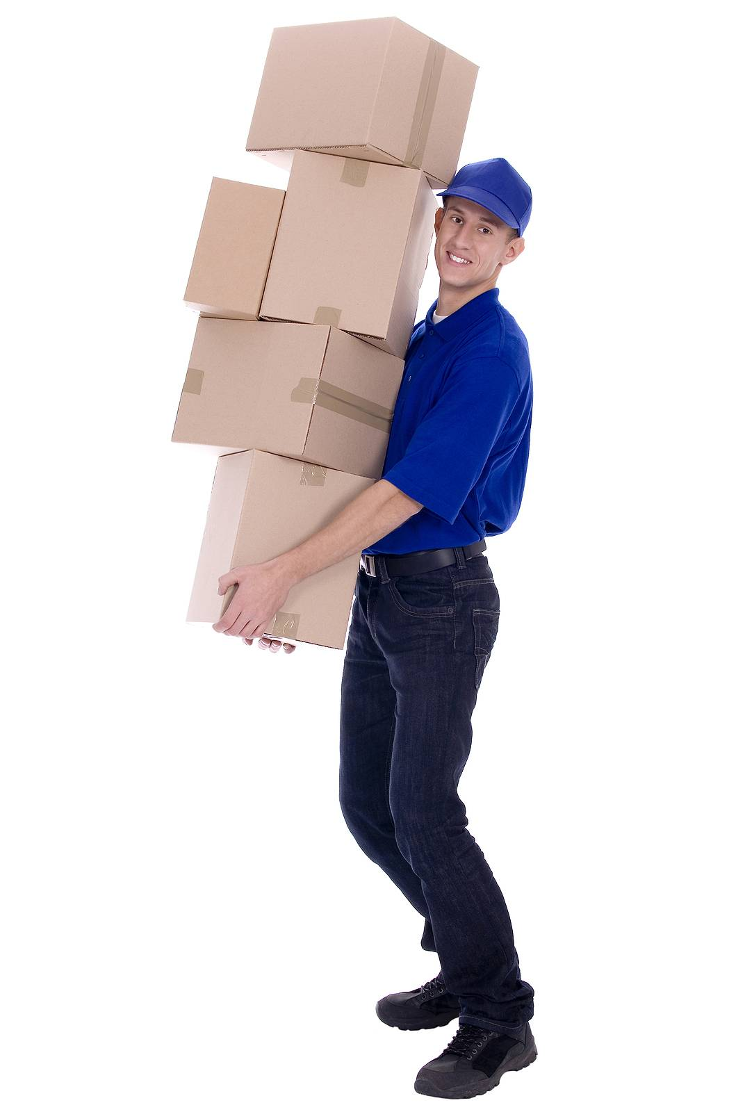 Bigstock Delivery Man