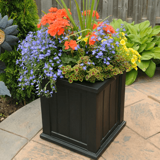 Make your garden display even more beautiful with the right planter