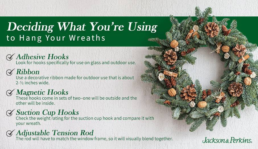 Deciding What You're Using to Hang Your Wreaths