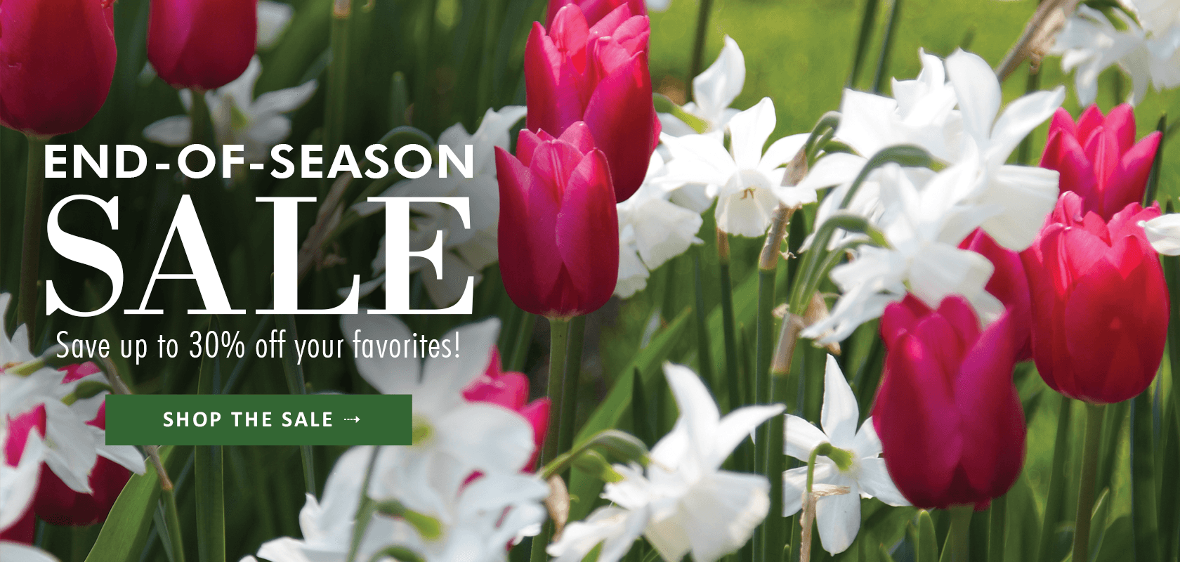 End Of Season Sale -- Save up to 30% off select items! Shop the sale