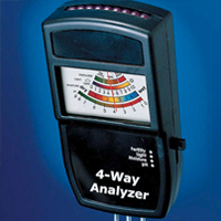 Electronic 4 Way Soil Analyzer