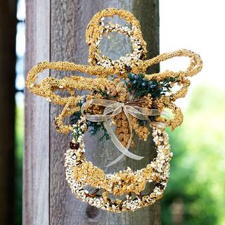 Hallelujah Angel Seed Ornament