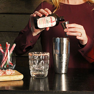 Peppermint Chocolate Julep Cocktail Mixer