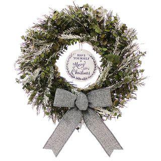 Merry Little Christmas Wreath