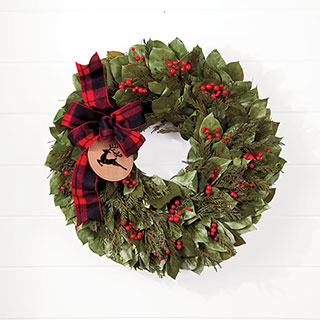 Run Run Reindeer Wreath