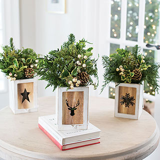 Glowing Holiday Centerpiece