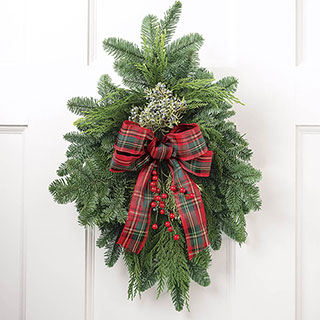 Home For Christmas Swag Image