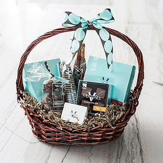 V Chocolates Thoughtful Basket