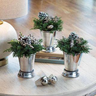 Silver Bells Evergreen Trio