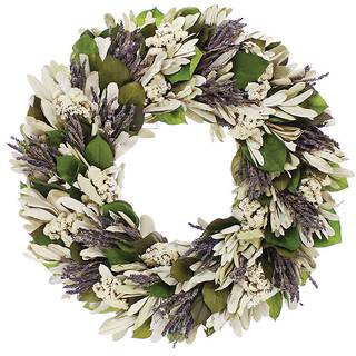 22-inch Lavender Song Wreath