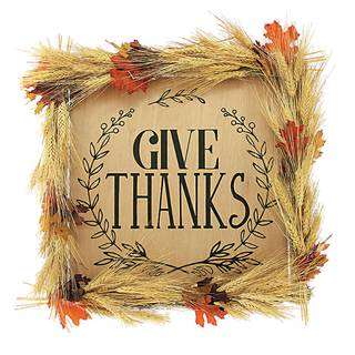 Give Thanks Farm Sign