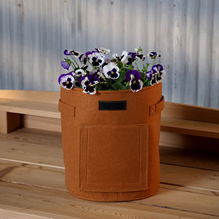 Small Felt Grow Bag