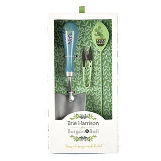 Brie Harrison Trowel, Snips and Label Set
