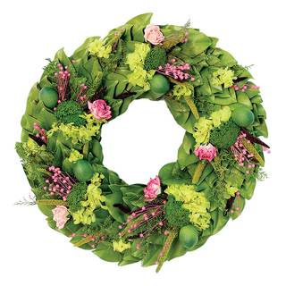 Limes & Roses Wreath