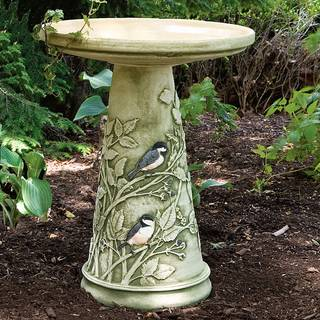 Chickadee Bird Bath