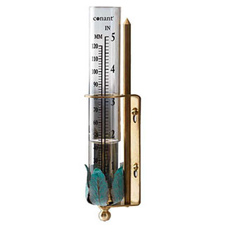 Conant Decor Rain Gauge Bronze Patina