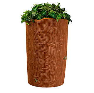 Impressions Bark 90 Gallon Rain Saver Terra Cotta