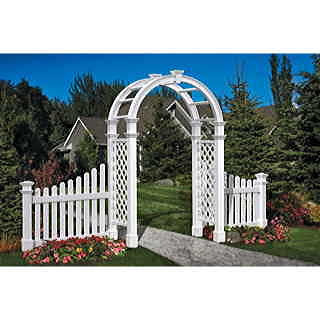 94 inch Nantucket Legacy Arched Ladder Arbor