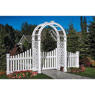 The Nantucket Arbor and Gate Collection