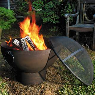 26-inch Fire Bowl with Spark Screen