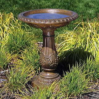 Bird Baths Offer Birds A Safe Place To Drink And Bathe