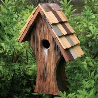 Nottingham Bird House with Shingled Roof