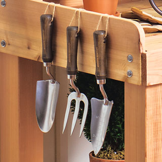 Stainless Steel 3-piece Hand Tool Set Image