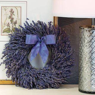 Fragrant Lavender Wreath