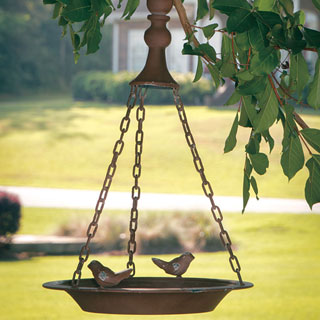 Rustic Hanging Bird Feeder Image