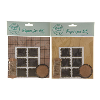 Paper Gift Box and Labels Kit