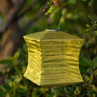 Silk Effects Square Solar Lanterns