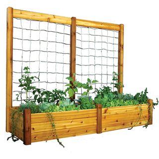 Raised Garden Bed Trellis Kit