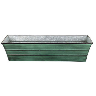 Galvanized Tin Window Box