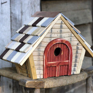 Heartwood Prairie Bird House