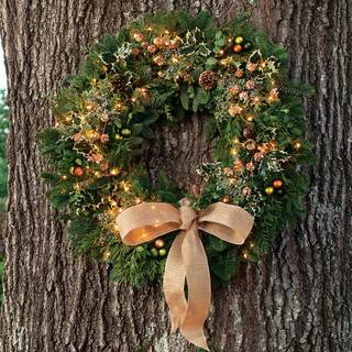 Winter Woods Wreath