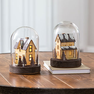 Whimsical Glass Cloches
