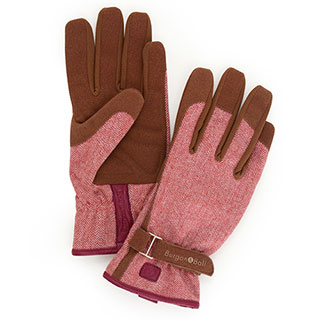 Red Tweed Glove
