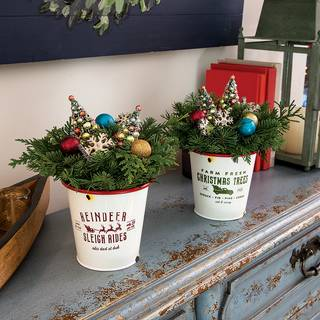 Vintage Christmas Centerpiece