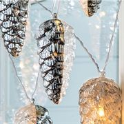 Crystal Cone Light Garland