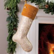 Golden Greetings Stocking