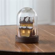 Home Sweet Home Glass Cloche