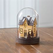 Woodland Welcome Glass Cloche