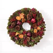 Visions of Sugarplums Wreath - 18-inch