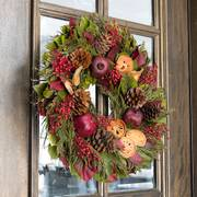 Visions of Sugarplums Wreath - 22-inch